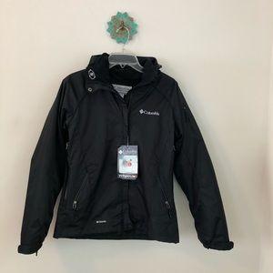 Columbia • titanium omni tech interchange jacket